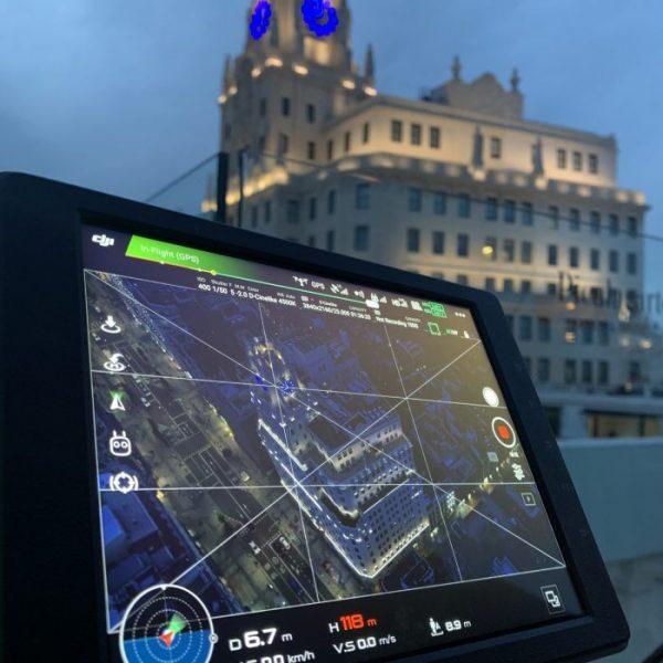 Net2fly Vuelo CTR con Dron en Madrid